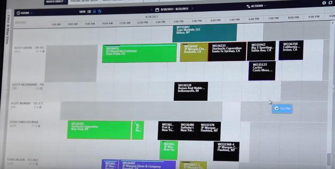 Field Service Scheduling