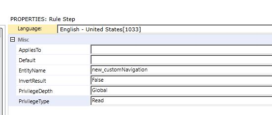 Hiding command bar buttons in Dynamics CRM using custom