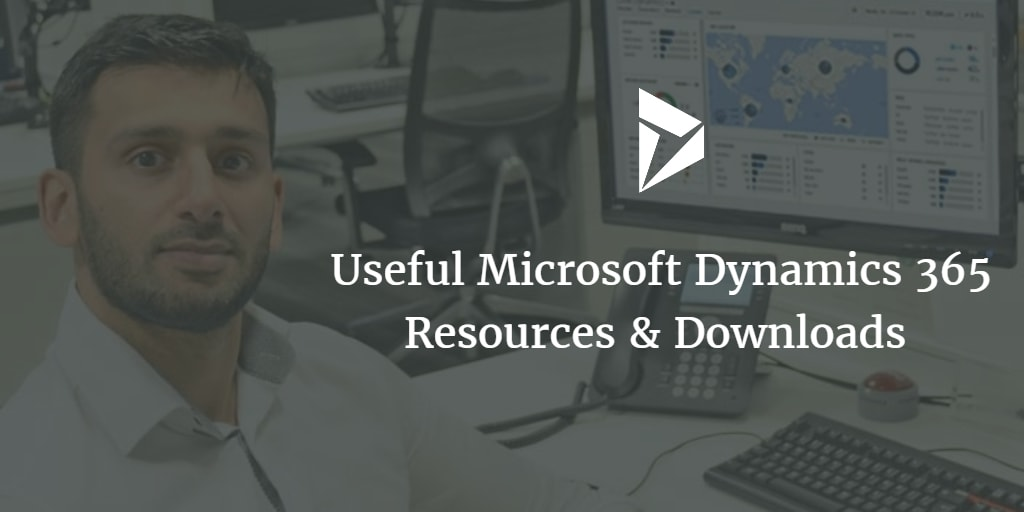 Dynamics-365-downloads-resources
