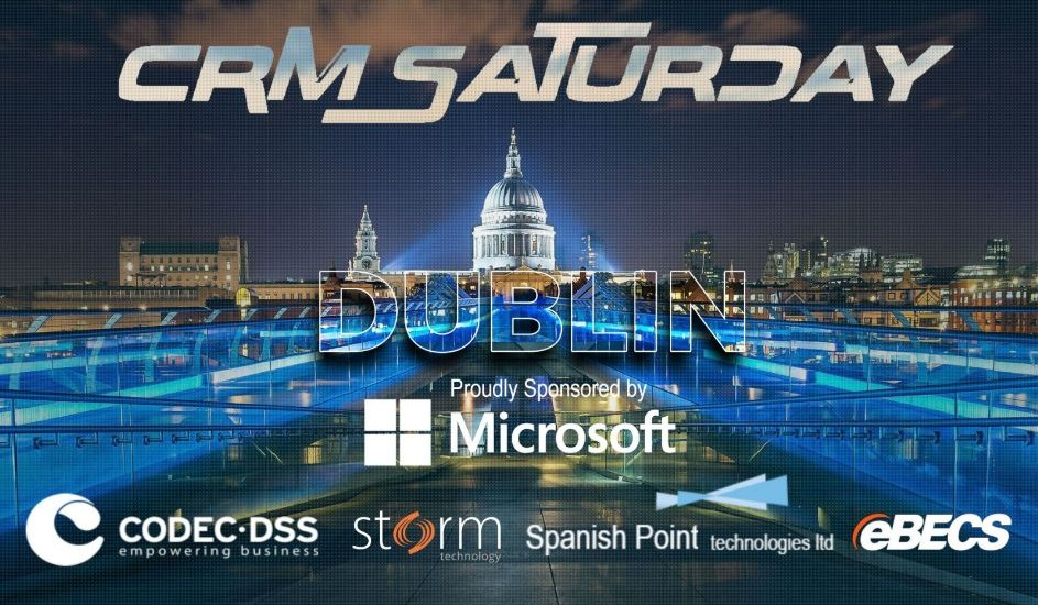 crm saturday dublin 2017