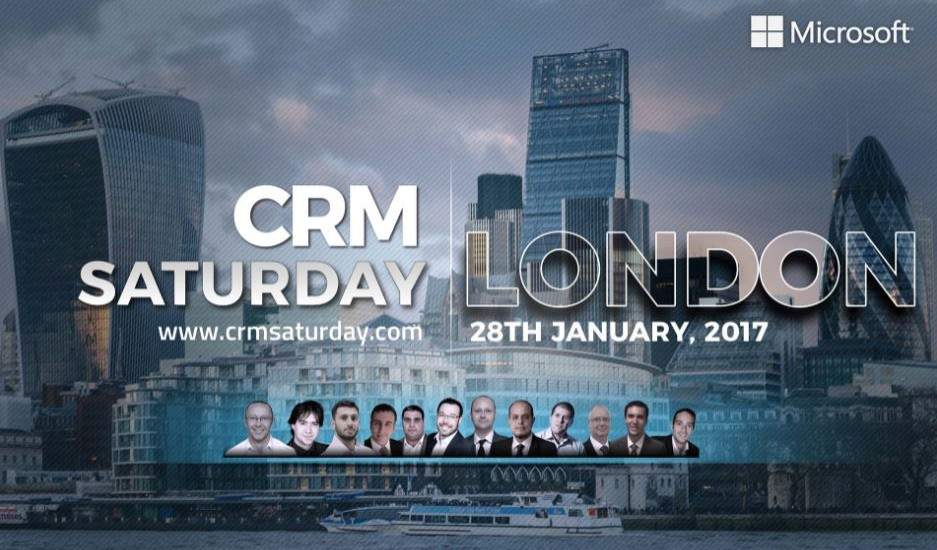 crm saturday london 2017