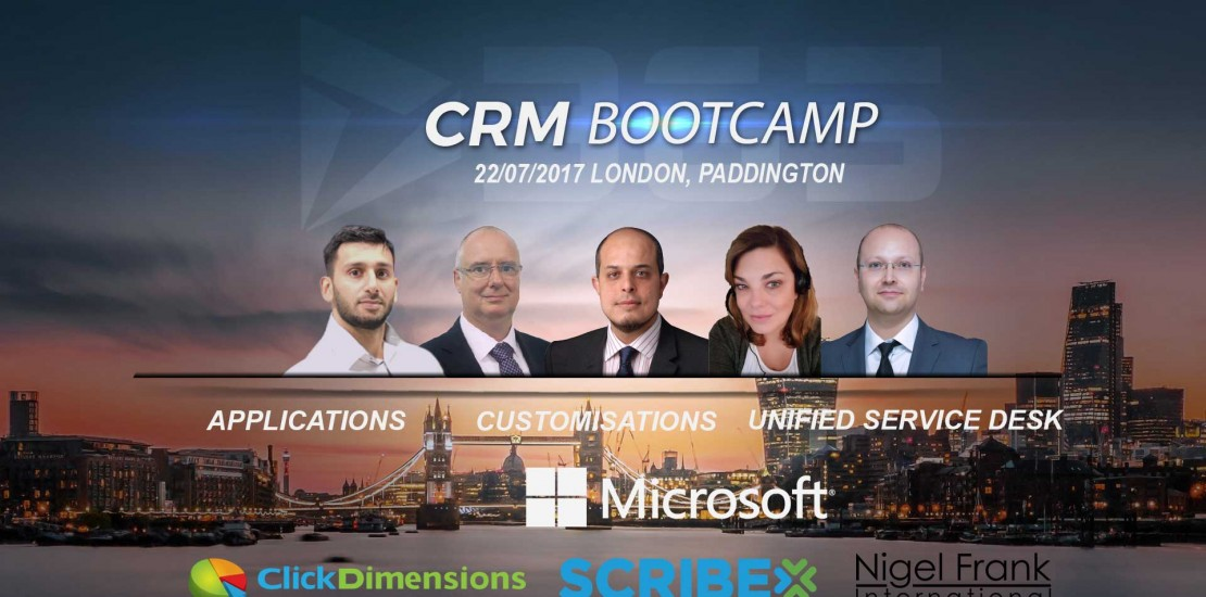Dynamics 365 CRM Bootcamp